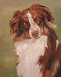 Pet Portraits Dog Paintings Oil Paintings